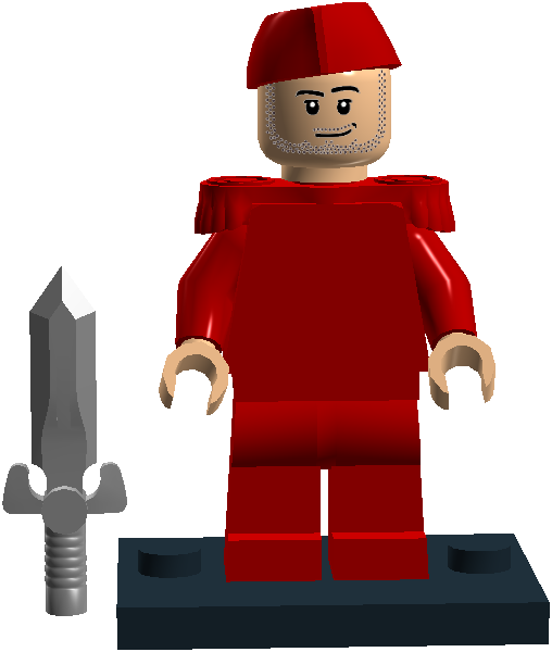 004 Red Soldier