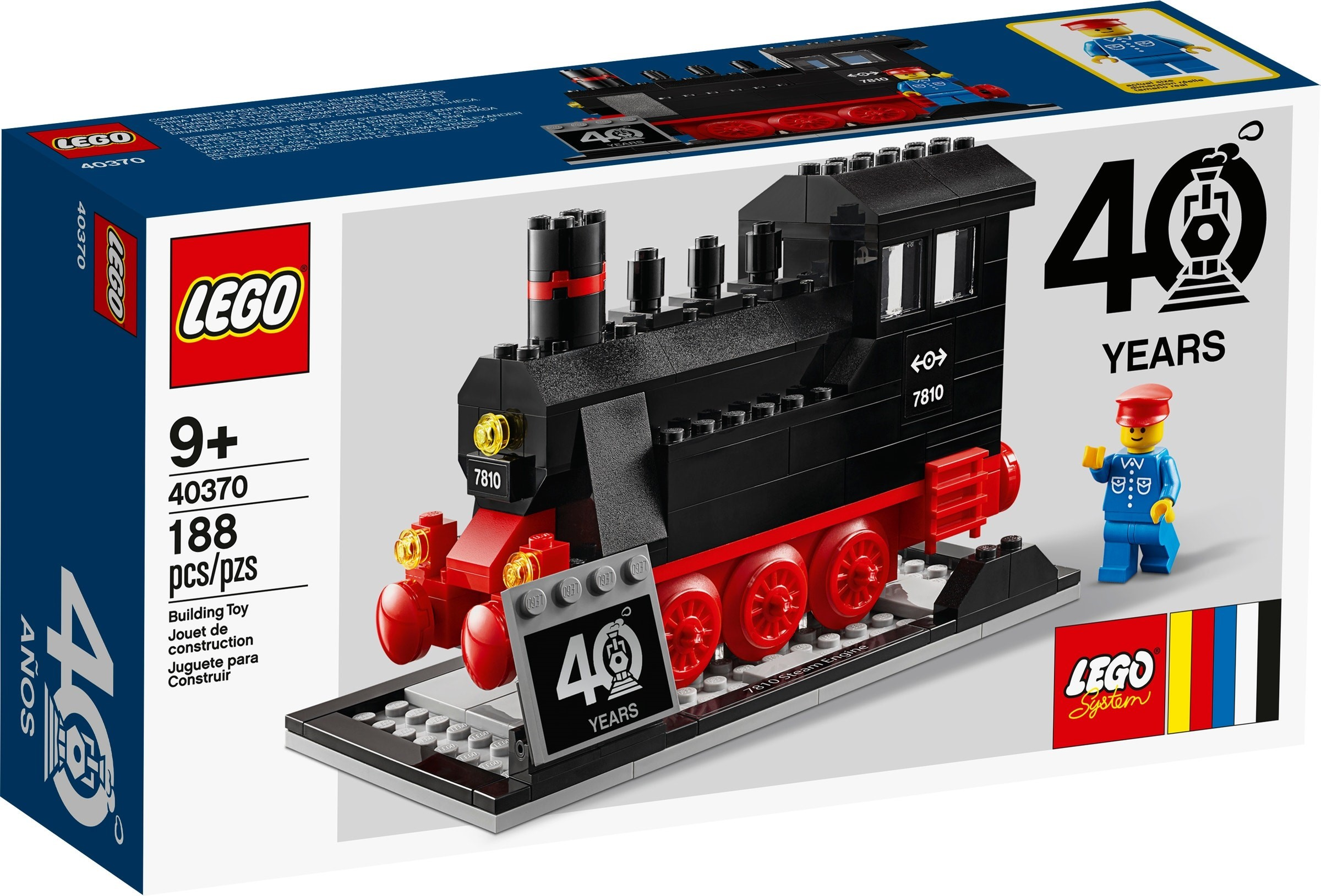 40370 LEGO Trains 40th Anniversary Set