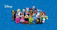 71012 Minifigures Série Disney