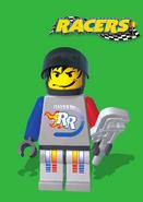 Rocket Racer manual front