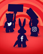 71030 Minifigures Série Looney Tunes Facebook 1