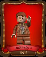 Carte Fred Weasley-10217