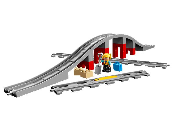 10872 Les rails et le pont du train
