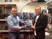 Tim Courtney et Masashi Togami SDCC 2013