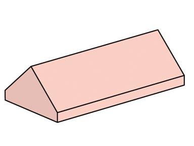 10007 2x4 Sand Red Ridge Roof Tiles Steep Slope
