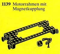1139 Motor-mount Plate with Magnetic Couplers