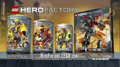 Hero Factory Evo vs
