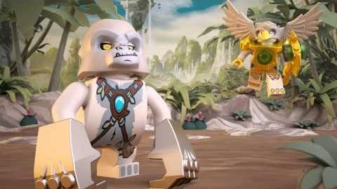 LEGO Chima - 70009 Worrizova bojová pevnost