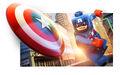 LEGO Marvel Super Heroes Render Captain America