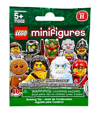 71002 Minifigures Series 11