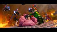 The LEGO Movie BA-Superman et Green Lantern