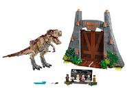 75936 Jurassic Park Le carnage du T. rex