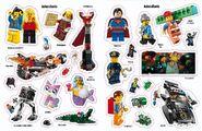 La Grande Aventure LEGO L'album des autocollants 4