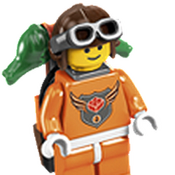 Level Three Master Builder Academy Minifigure