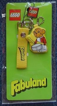 4503059 Mobile Phone Accessory, Strap with Fabuland Monkey pendant