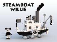 Ideas Projet Steamboat Willie
