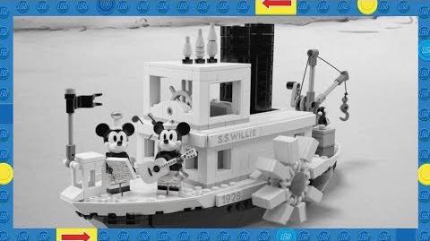 LEGO Ideas Steamboat Willie Set 21317 – Revealed!
