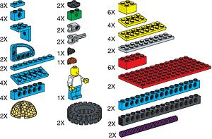 970673 Special Elements for ROBO Technology Set