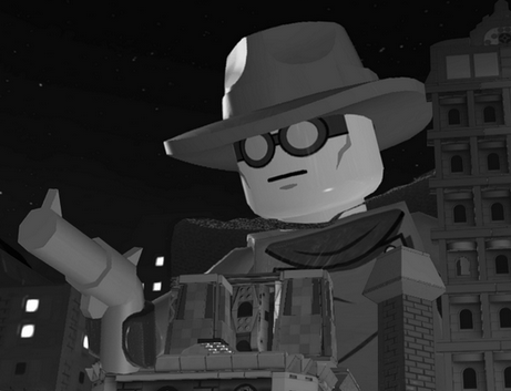 Gray Ghost (Super Heroes)