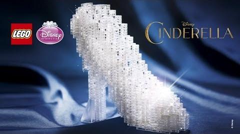 LEGO Brand Disney Princess - Cinderella's Sparkling Slipper