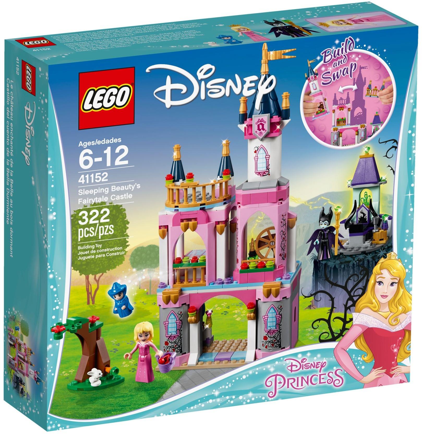 41152 Sleeping Beauty's Fairytale Castle