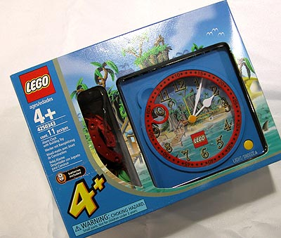 4250343 Pirate's Clock