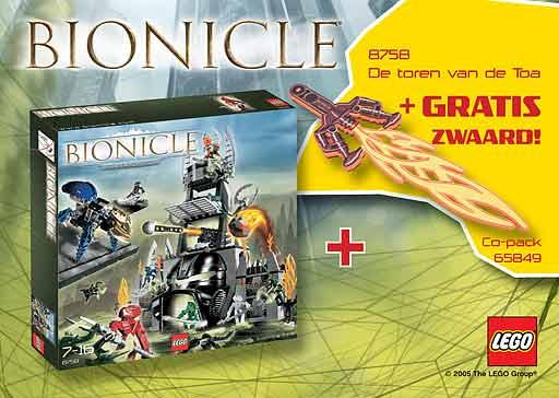 65849 BIONICLE Co-pack