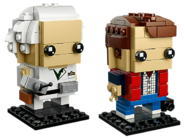41611 Marty McFly & Doc Brown