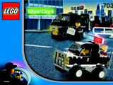 7032 Highway Patrol & Undercover Van