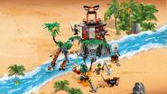 70604 Tiger Widow Island Second Poster