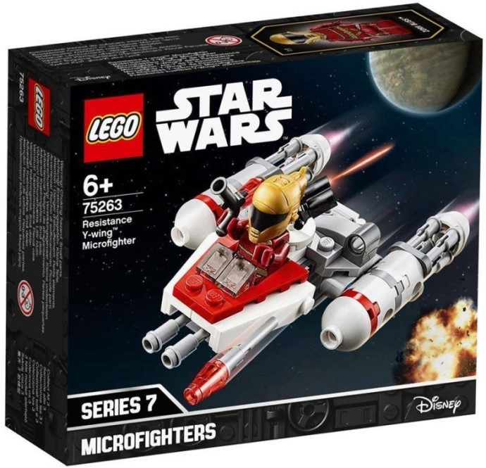 75263 Resistance Y-wing Microfighter