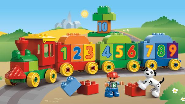 10558 Le train des chiffres