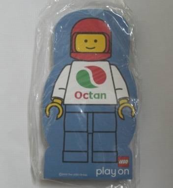 4229614 Memo Pad Minifig - (F) Octan