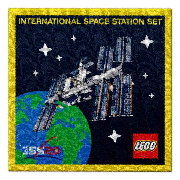 5006148 International Space Station Patch