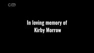 Kirby Morrow dedication