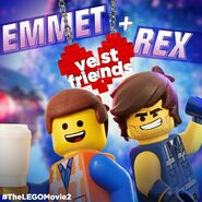 TheLegoMovie2 EmmetandRex VestFriends