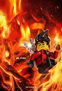 The LEGO Ninjago Movie Poster Kai