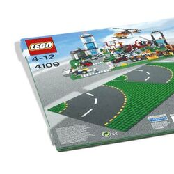 4109 Curved Road Plate
