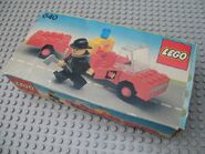 640-Fire Truck and Trailer