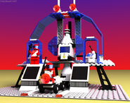 6953 Cosmic Laser Launcher raytrace