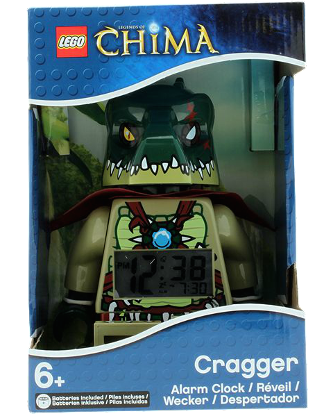 5002417 LEGO Legends of Chima Cragger Minifigure Clock