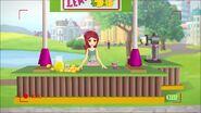 Stand de limonade-L'exposé scientifique d'Olivia