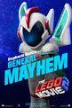 The LEGO Movie 2 Poster General Mayhem