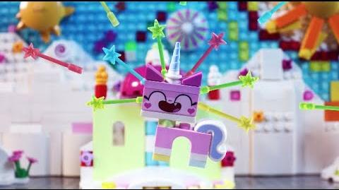 Unikitty Saves Bricksburg - THE LEGO MOVIE 2 - The LEGO Movie ReTelling