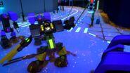 Robot terre de Cole-L'ennemi invisible