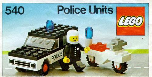 540 Police Units
