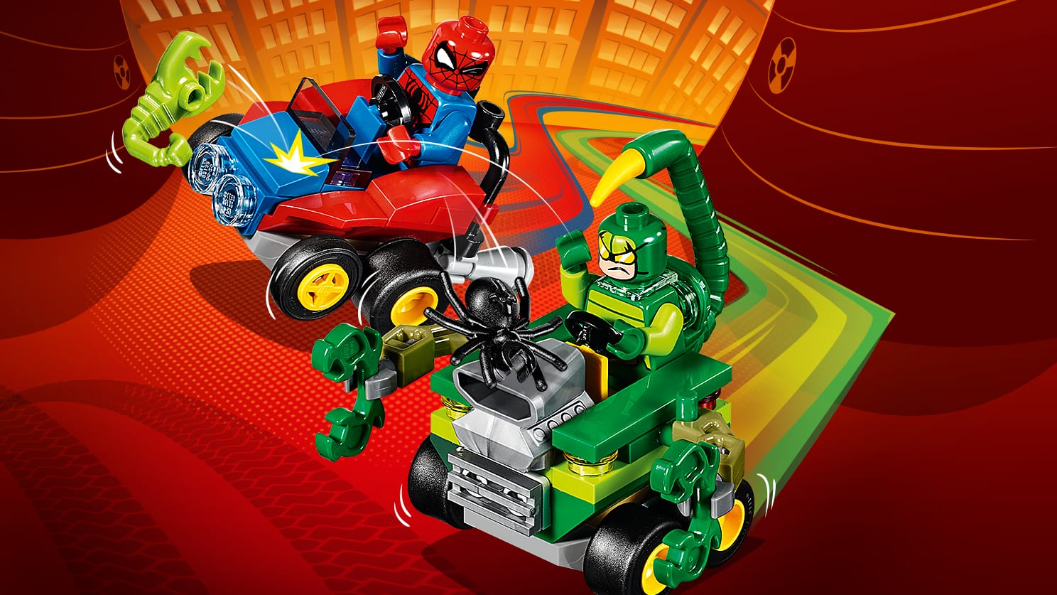 76071 Mighty Micros : Spider-Man contre Scorpion