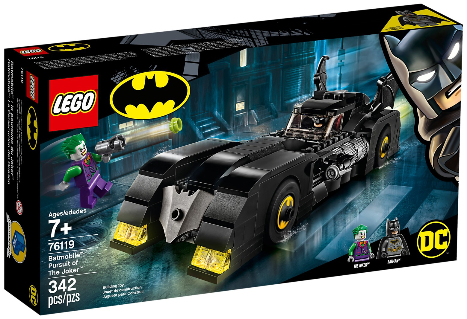 76119 Batmobile: Pursuit of the Joker
