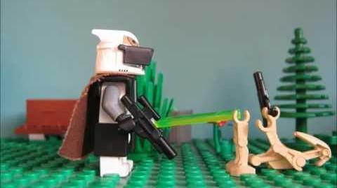 Clone Gunner Commander Jedi