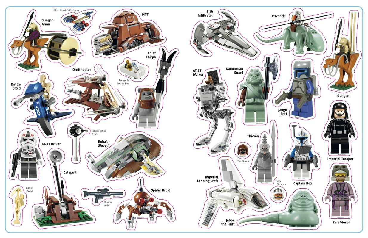 LEGO Star Wars Villains Ultimate Sticker Collection